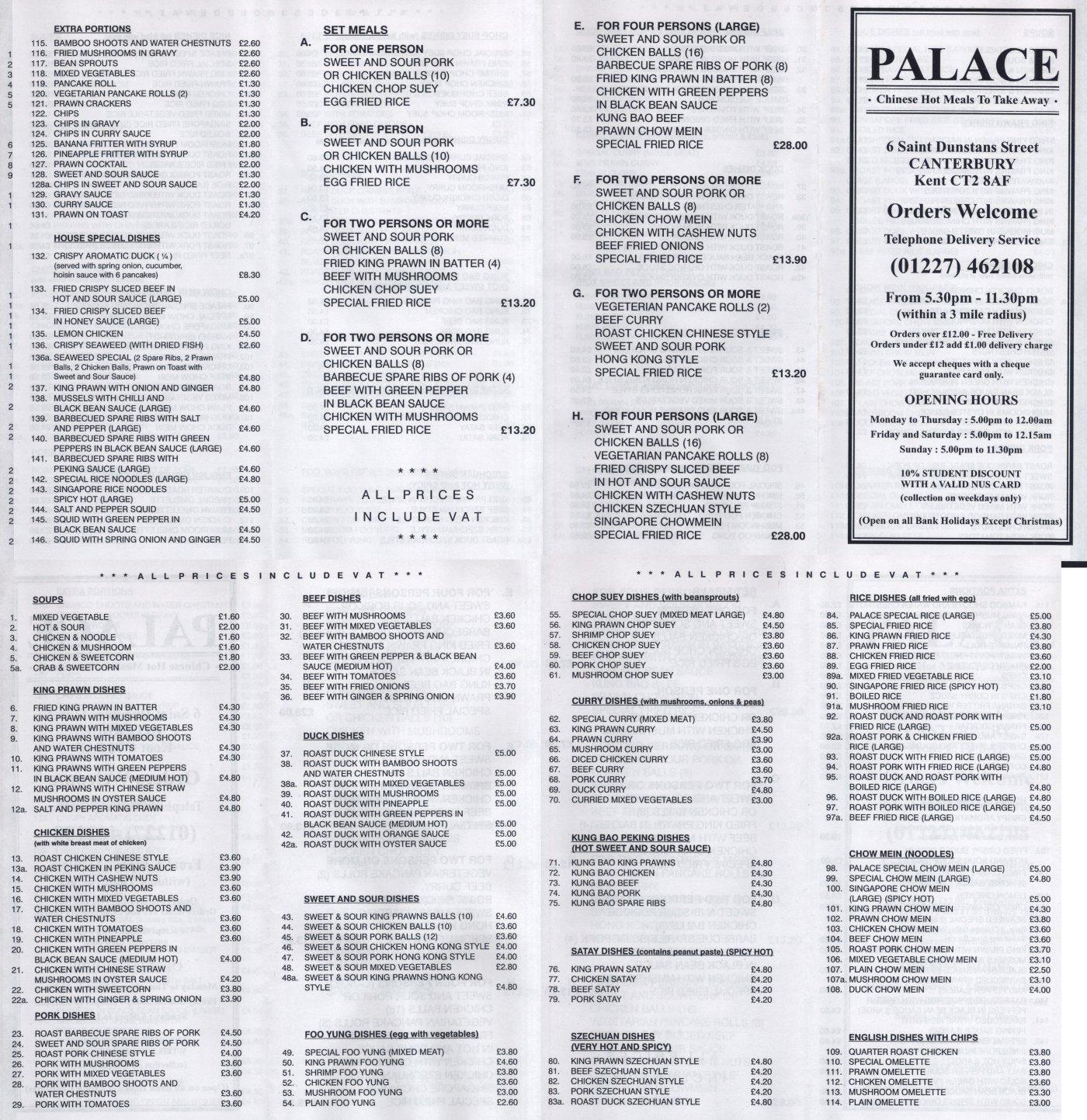 Magnificent Palace Kitchen Menu Model - Kitchen Cabinets | Ideas ...